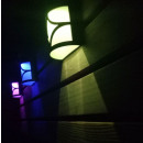 wholesale Lampes: Apply solar led rgb 0.2w, 2 lighting modes, ...