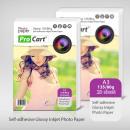Großhandel Basteln & Malen: Hochglänzendes selbstklebendes Papier im Format A3