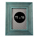 wholesale Pictures & Frames: Photo frame otto 13x18 textured turquoise wood