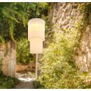groothandel DVD & TV & accessoires: Lampion solar, abajur textil, 11 led-uri alb cald,