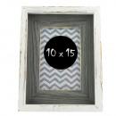 wholesale Pictures & Frames: Wood photo frame ida photo frame 10x15 cm white co