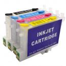 wholesale Computer & Telecommunications: Rechargeable cartridges t0601, t0602, t0603, t0604