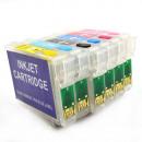 wholesale Printers & Accessories: Rechargeable Cartridges epson t0791-t0796