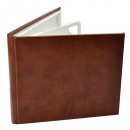 wholesale Consumer Electronics: Case for 4 cd dvd delux classic leather eco-burgun