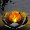 Großhandel DVD & TV & Zubehör: Nufar Solar dekorativ, LED Alb Cald, Metall-Sticla