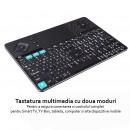 Drahtlose Multimedia-Tastatur mit zwei Modi K16 ke