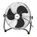 Chromed floor fan, power 60w, 3 speeds, protection