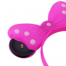 wholesale Scarves, Hats & Gloves: Cordeluta minnie mouse with led, ears and pink lig