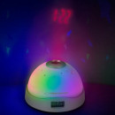 wholesale Clocks & Alarm Clocks: Alarm clock with hour projection and colorful star