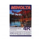 Fotopapier Minolta 10x15, 270g, rc premium glänzen