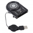 Mini usb laptop cooler, 1 fan, speed control, supe