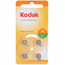 Les piles p13 kodak, zinc carbone, set 4 pièces