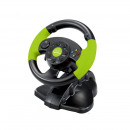 Pedal gaming steering wheel, xbox 360 / pc / ps3,