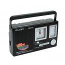 grossiste Electronique de divertissement: Radio portable avec horloge à quartz, 12 fréquence