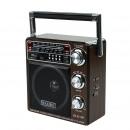 Tragbares mp3-radio, usb, fm / am / sw, 220 v, 4 i
