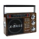 Großhandel MP3 & MP4 Player: Mini tragbares 3-Wege-Radio, MP3-Player, TF, ...