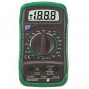 mayorista Baterias y pilas: Multímetro digital, 9 funciones, batería ...
