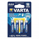 Set aus 4 Alkaline Batterien, 1,5 Alkaline