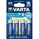 grossiste Batteries et piles: Ensemble de 4 piles Alkaline aa, lr6, 1.5 v, Varta