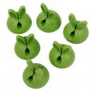 Großhandel Handwerkzeuge: Organizer Green Rabbit-Kabel, selbstklebend, Clam