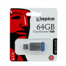 wholesale Storage media: Memory stick 64gb, usb 3.1, dt50, metallic, kingst