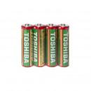 Großhandel Batterien & Akkus: Legen Sie 4 Batterien 1,5 V AA6, Toshiba