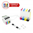 wholesale Printers & Accessories: Ciss for Brother series lc123 ink with dye ink