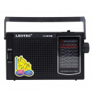 grossiste Electronique de divertissement: Radio portable 2.5w, 12 bandes fm / tv / mw / sw1-