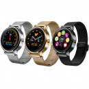 Smartwatch Bluetooth 4.0, 18 Funktionen, Anruf, io