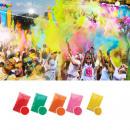 Set 5 colors neon uv holi powder, 100gr / color
