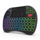 wholesale USB-Accessories: Mini wireless keyboard rgb illuminated, ...