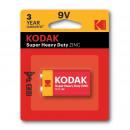 mayorista Lamparas de bolsillo: Batería súper resistente Kodak, 9v, zinc