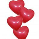 mayorista Articulos de fiesta: Globos en forma de corazón, 12 piezas, rojo.
