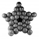 wholesale Carpets & Flooring: Ball star support for balloons, 37 pieces, abs