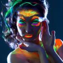mayorista Salud y Cosmetica: La pintura de la cara y el cuerpo fosforescente br