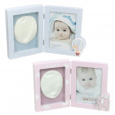 wholesale Pictures & Frames: Photo frame baby baby clouds 10x15 cm with hand an