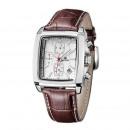 wholesale Watches: Quartz, rectangular, watch date, brown ...