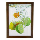 wholesale Pictures & Frames: Lemon photo frame, a3 format, 30x40 cm, wood, brow
