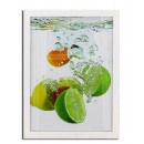 wholesale Pictures & Frames: Photo frame lemon, a3 format, 30x40 cm, wood, whit