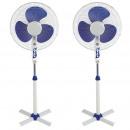 grossiste Climatiseurs et ventilateurs: Set 2 ventilateurs avec trépied, 45w, 3 vitesses,