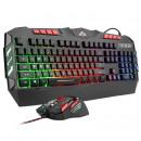 Gaming-Kit für Tastatur und Maus, LED beleuchtet,