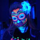 Phosphorescent potloodmake-up, gloed halloween, 3.