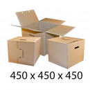 wholesale Business Equipment: Carton box for moving 450x450x450 mm with flap and