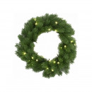 Christmas corsage 48 LEDs, timer, interior and ext