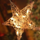 wholesale Accessories & Spare Parts: Christmas ornament, lighted star, ornament ...