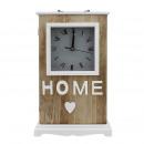 mayorista Joyas y relojes: Reloj de mesa Vintage , caja de madera, mecanismo