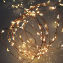 Großhandel Consumer Electronics: Girlande 80 Micro LED, Länge 7,9 m, außen, warm