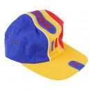 nagyker Sport és szabadidő: Tricolor cap romania, állítható méret, textil, mo