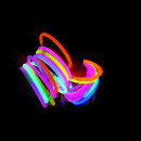 wholesale Jewelry & Watches: Set of 100 colorful bracelets bright glow sticks c