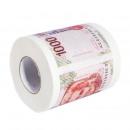 mayorista Articulos de higiene: Papel higiénico con billete de banco 1000 liras, r